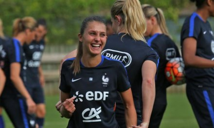 France – Notes. Eve Perisset – Ce n'est que 19 matches en D1 ! Quel match quand même !