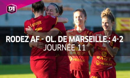 VIDEO – 11e J- Video des buts de la 11e journée de la D1F