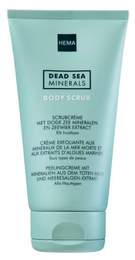 scrubcreme met dode zee mineralen en zeewier extract