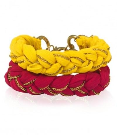 double-bracelet-mousseline-et-chaine-doree