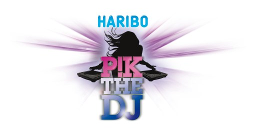 LOGO PIK THE DJ HARIBO