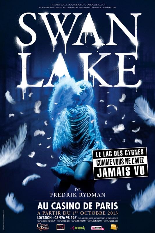 Affiche SwanLake - Casino Paris