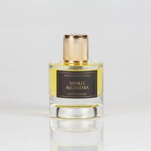 Le parfum vanille Alcantara dans son plus beau flacon