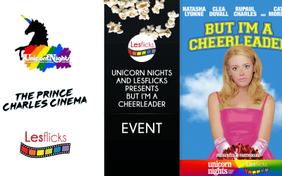 Unicorn Nights and LesFlicks presents But I'm a Cheerleader