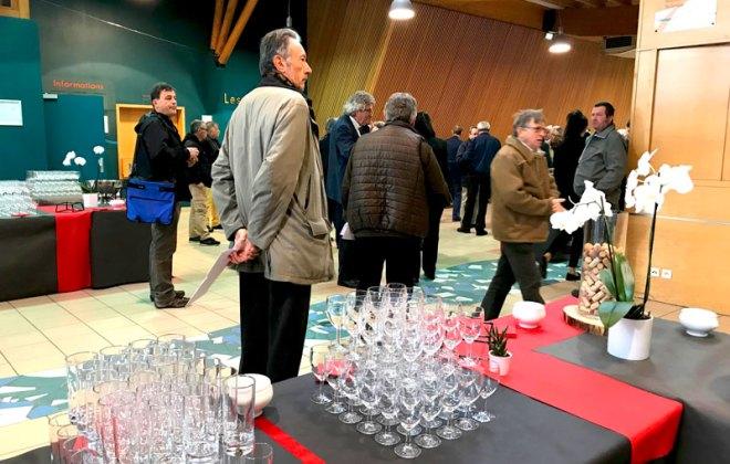 Elections du comité syndical du SIEl à l'amphithéâtre des Foréziales dans la Loire