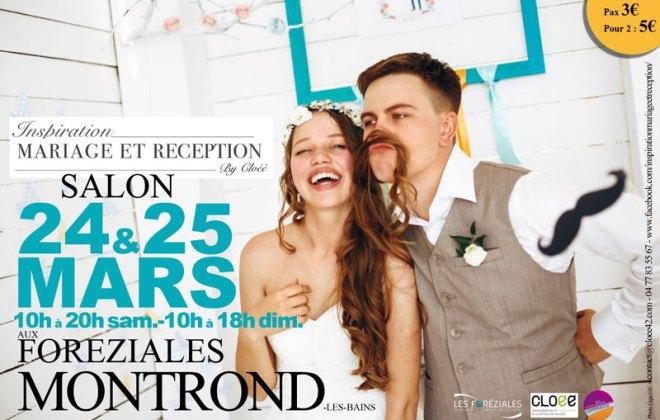 salon du mariage à Montrond-les-Bains aux Foréziales organisé par Cités Commerce et l'agence CLOEE