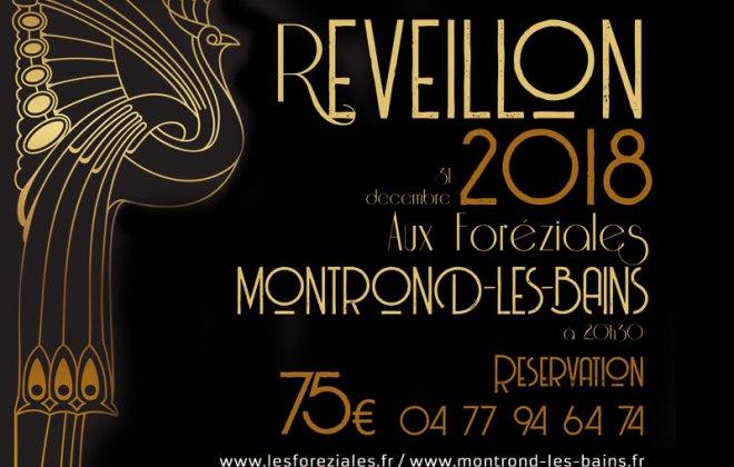 Réveillon du nouvel an dans la Loire aux Foréziales