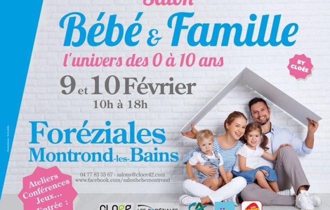 1er salon Bébé et Famille de la Loire Montrond les 9 et 10 février 2019