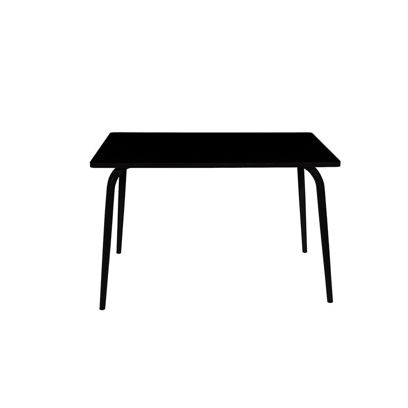 table a manger tables design retro formica vera 120x70 noir