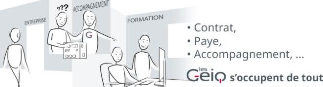 Contrat, Paye, Accompagnement,… les Geiq s'occupent de tout
