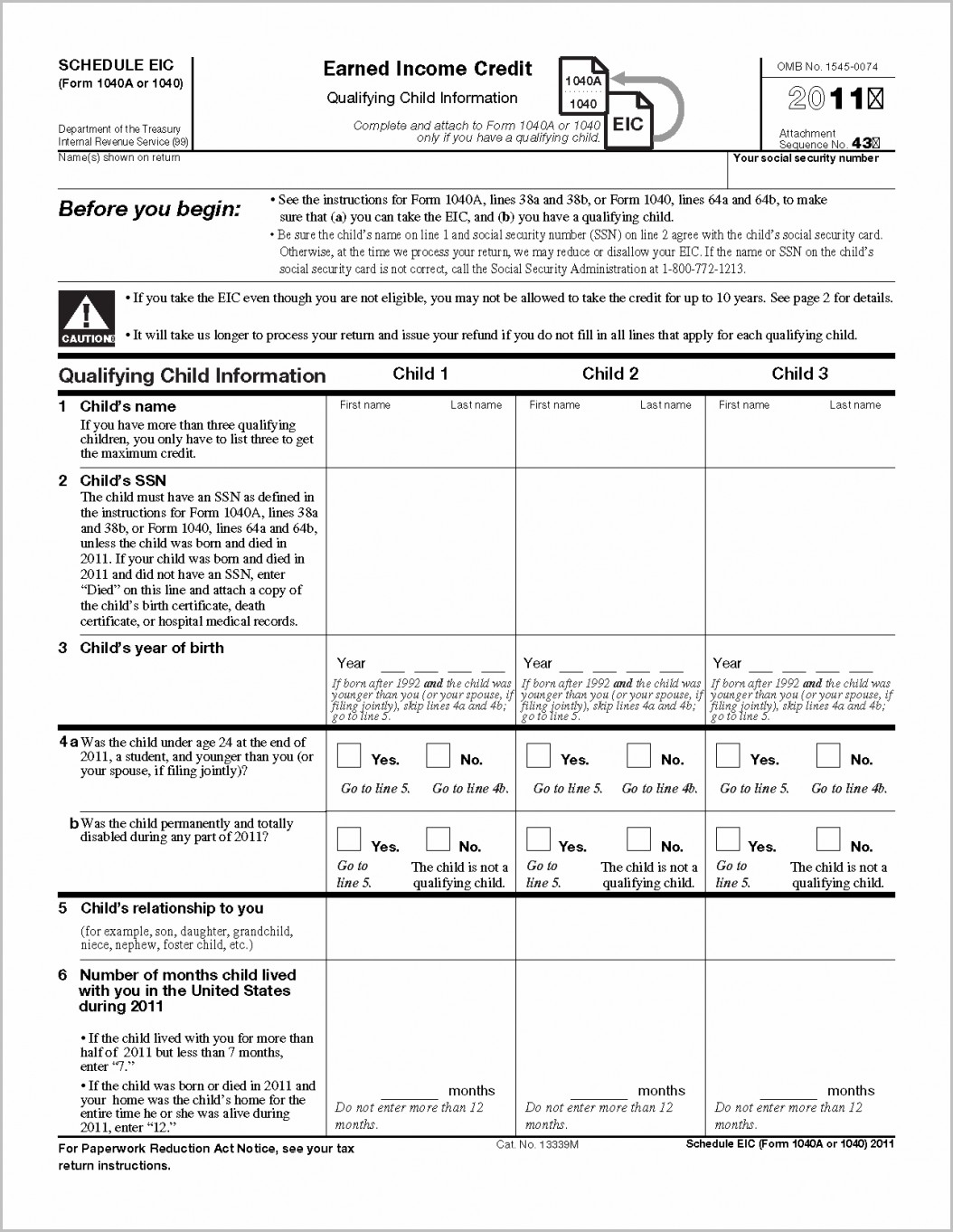 Sample Of Ez Tax Form