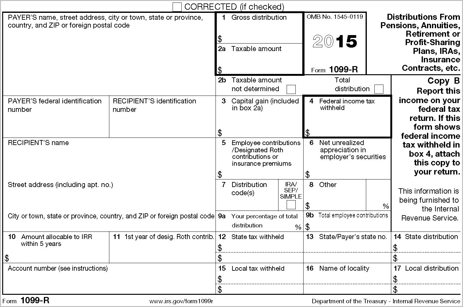 Irs Form Instructions