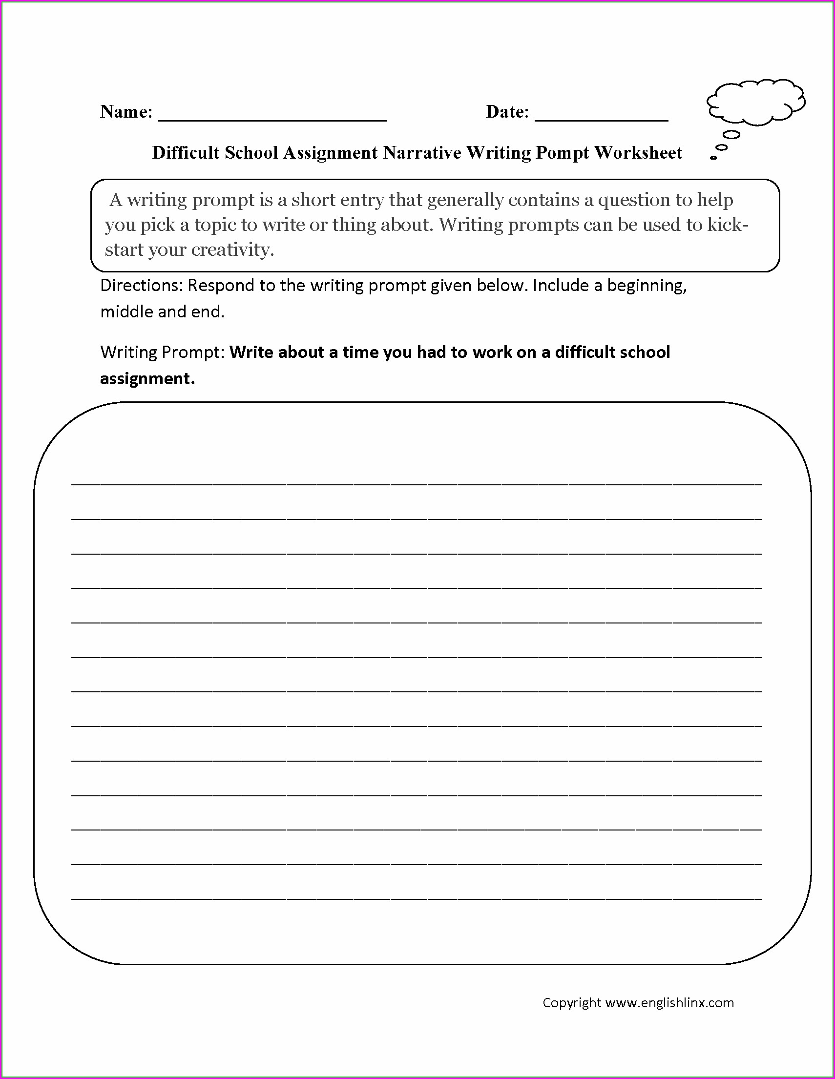 3rd Grade Capitalization Worksheets