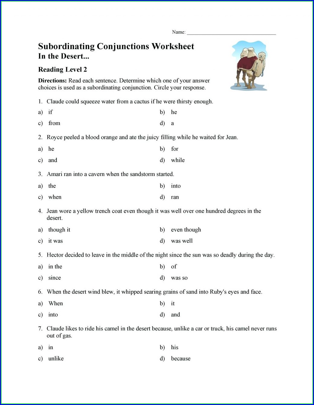 Printable Articles Worksheet For Class 3