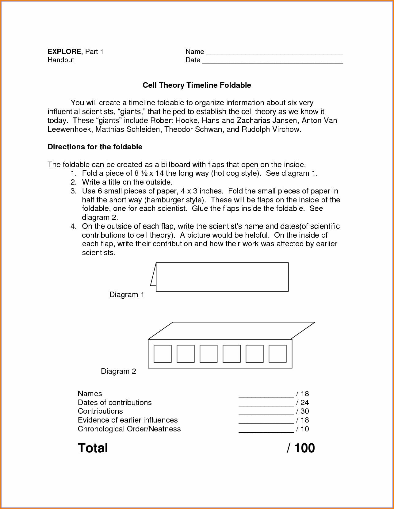 Cold War Timeline Worksheet