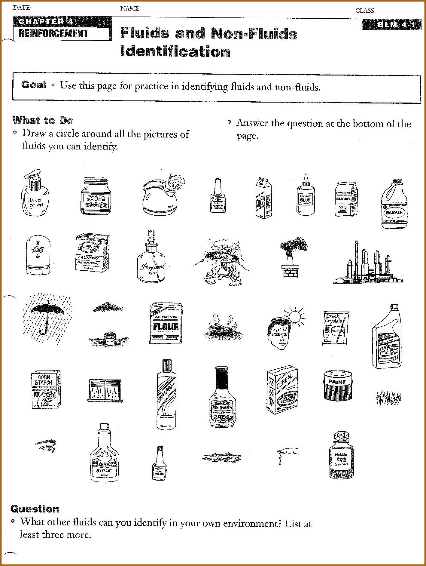 Density Viscosity Buoyancy Worksheet