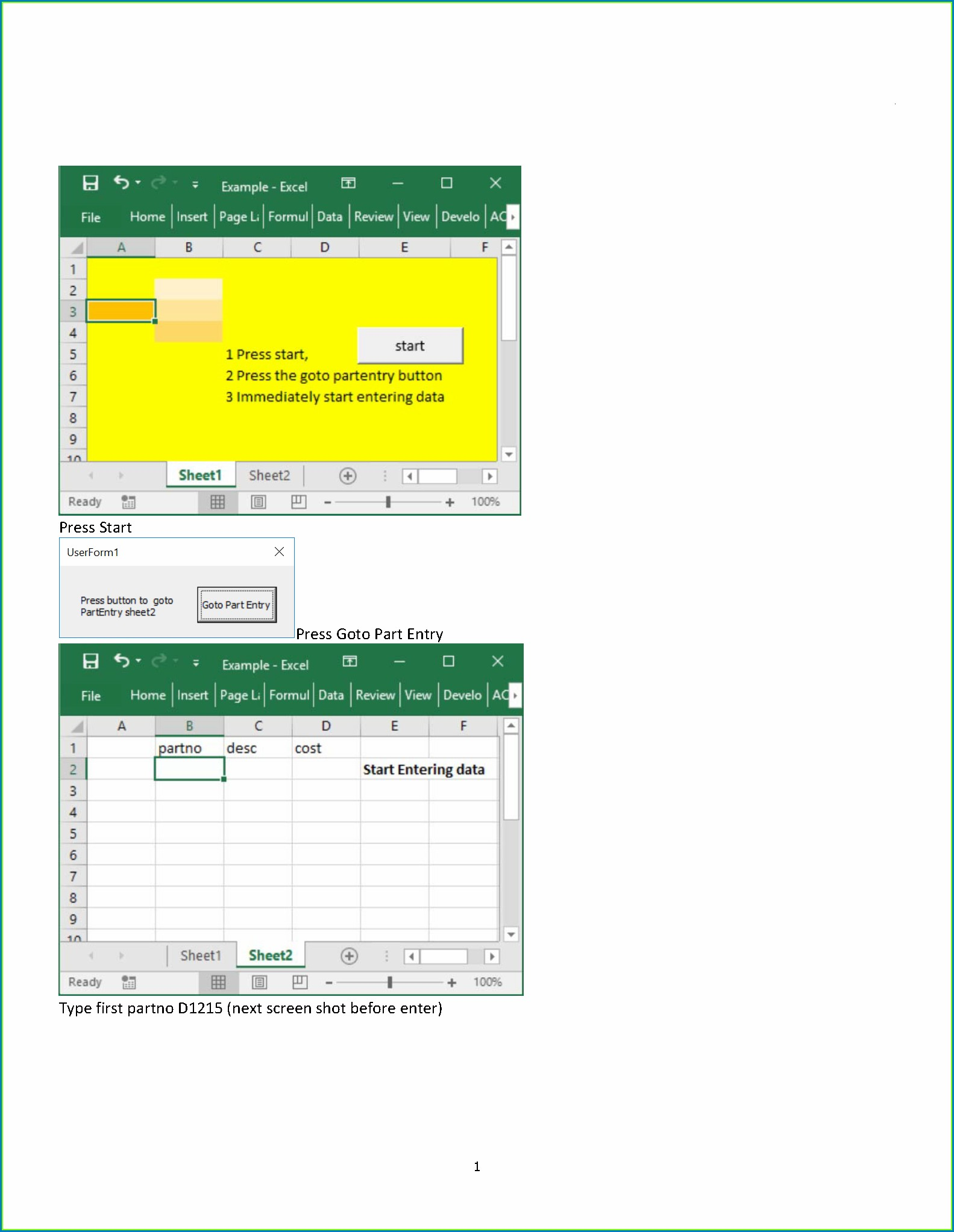 Excel Vba Worksheetpicturesinsert