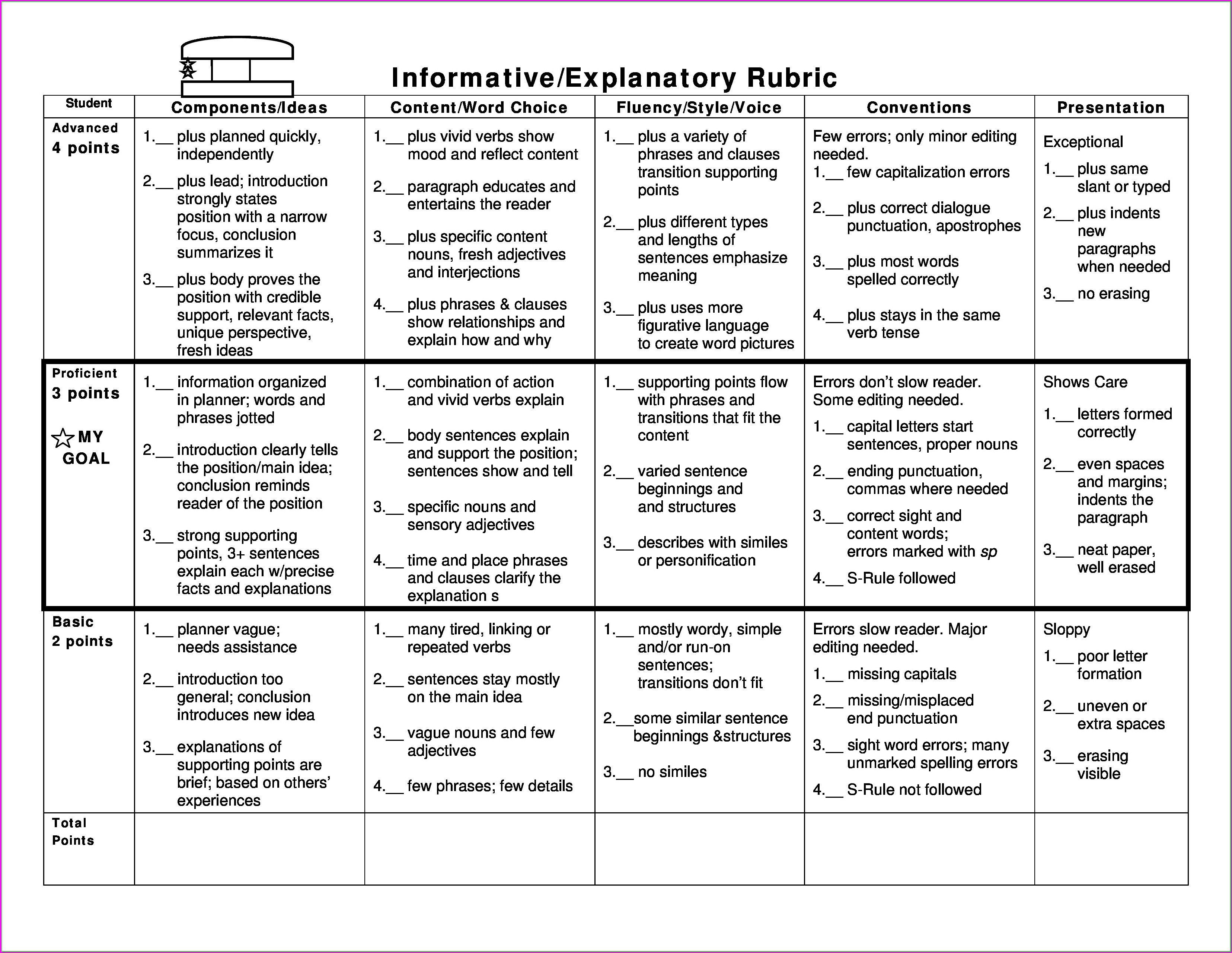 2nd Grade Punctuation Paragraph Worksheets