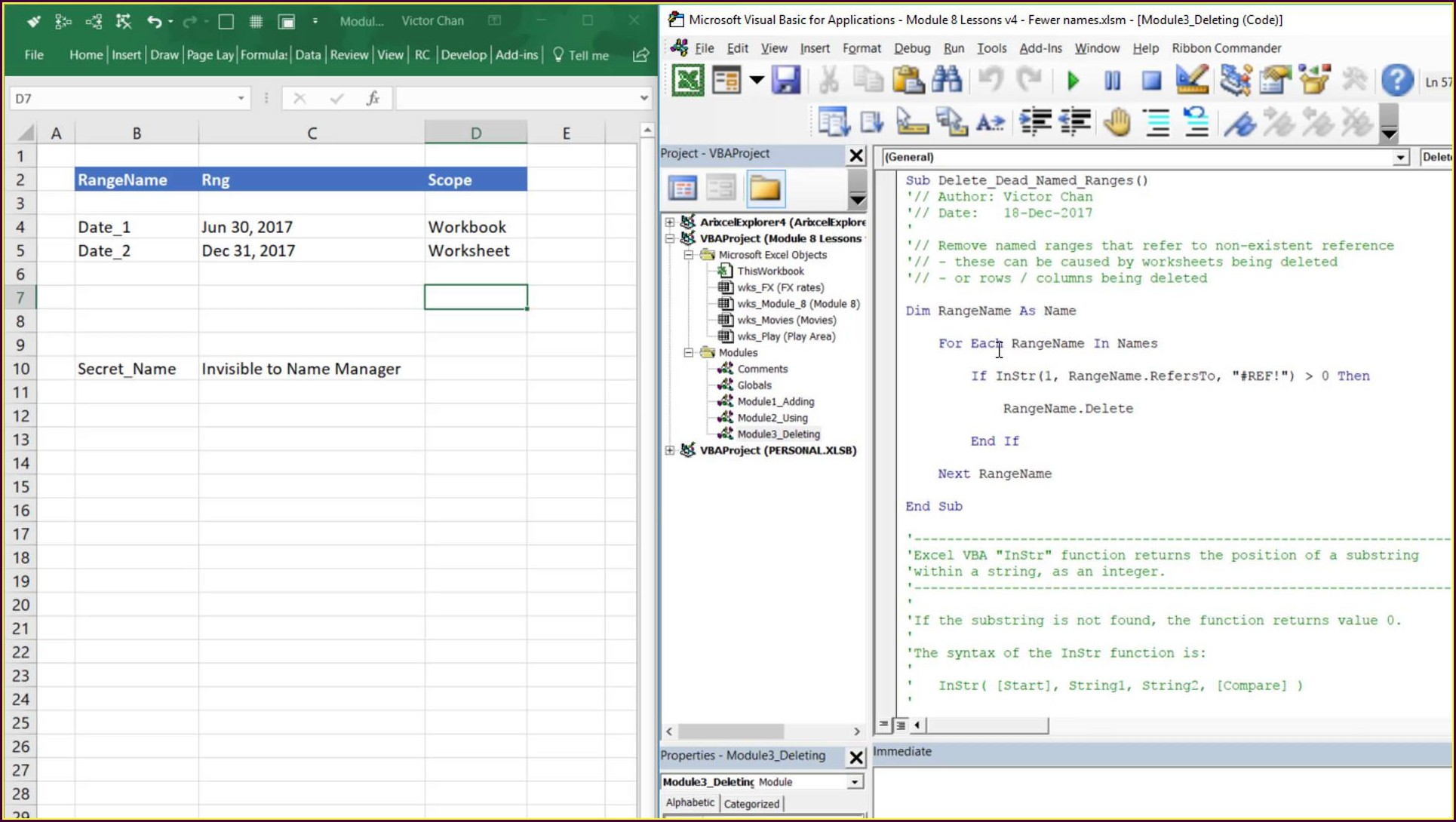 Excel Vba Worksheet Before Delete