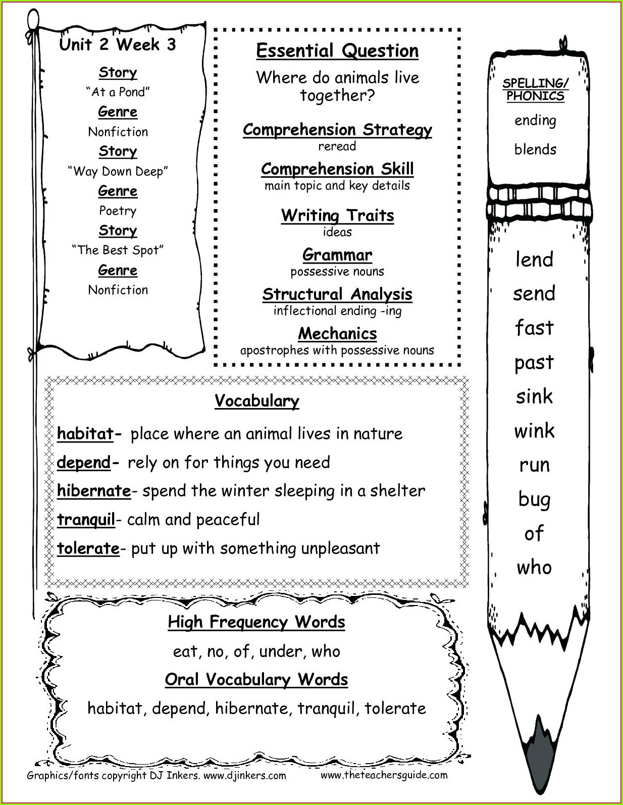 First Grade Consonant Blends Worksheets