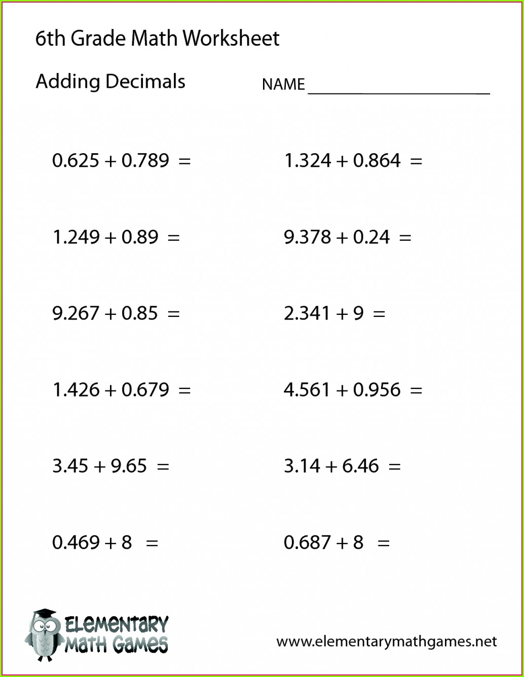 Worksheets On Order Of Operations With Brackets