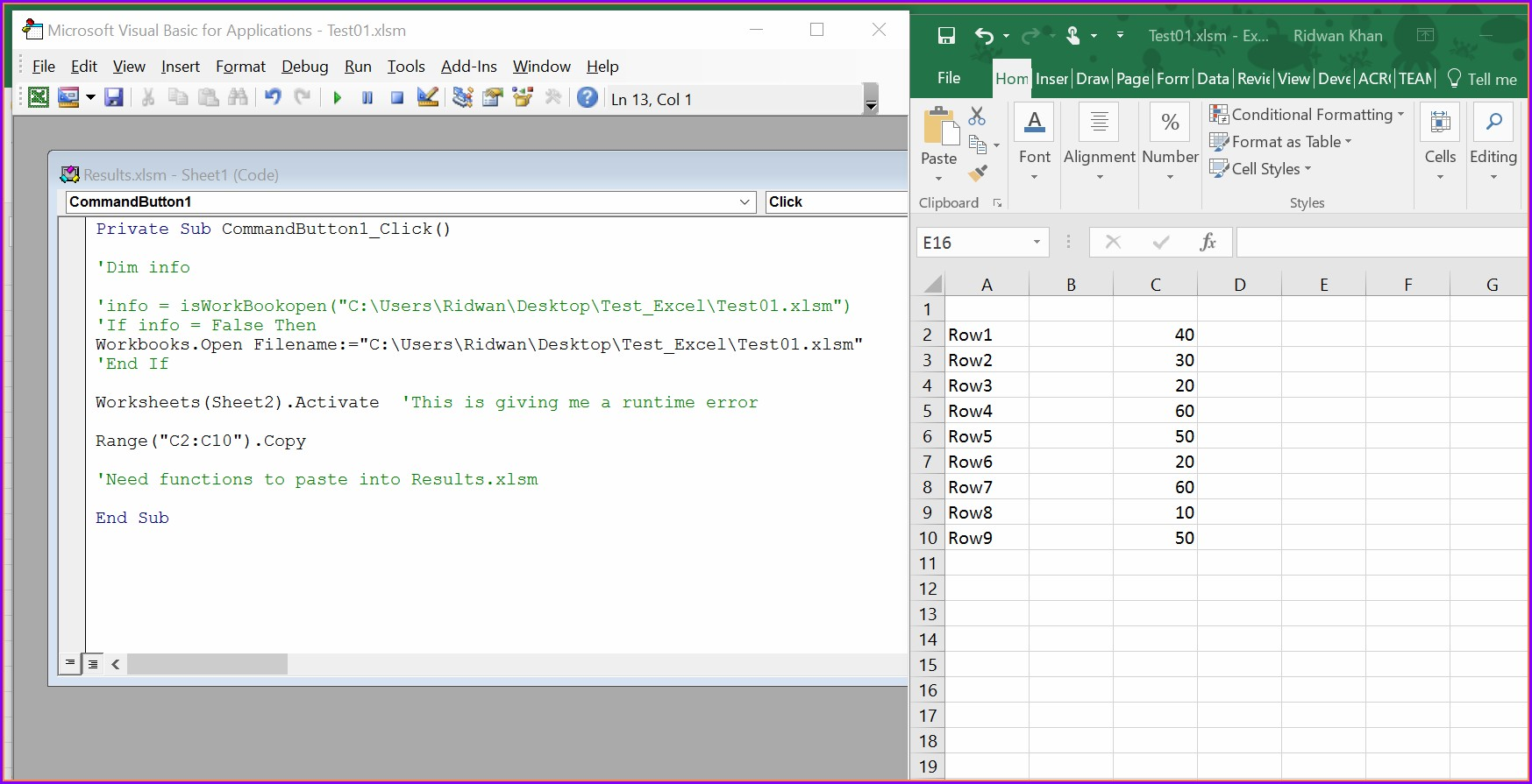 Vba Copy Hidden Worksheet To New Workbook