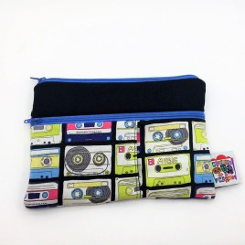 Trousse double zip cassette