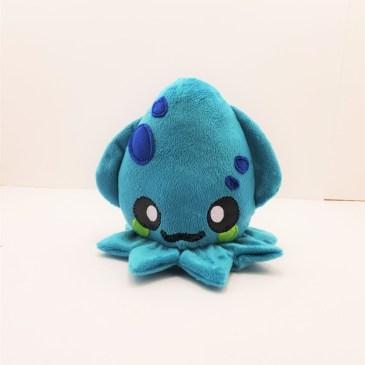 Peluche octopus turquoise