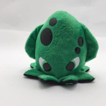 Peluche octopus vert