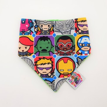 Bavoir bandana Marvel