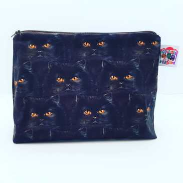 Grande trousse chats noirs