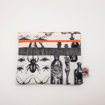 Grande trousse double zip Halloween