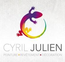 Logo Cyril Julien Peinture // Les Hameçons Cibles