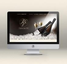 Site Internet / Champagne Jean-Guy Viot // Les Hameçons Cibles