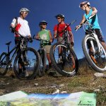 image de moutain bike en groupe