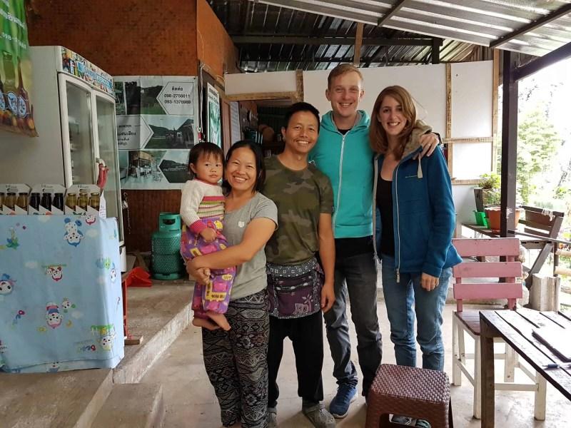 Thaïlande, sur la route de Mae Hong Son 🛵 1