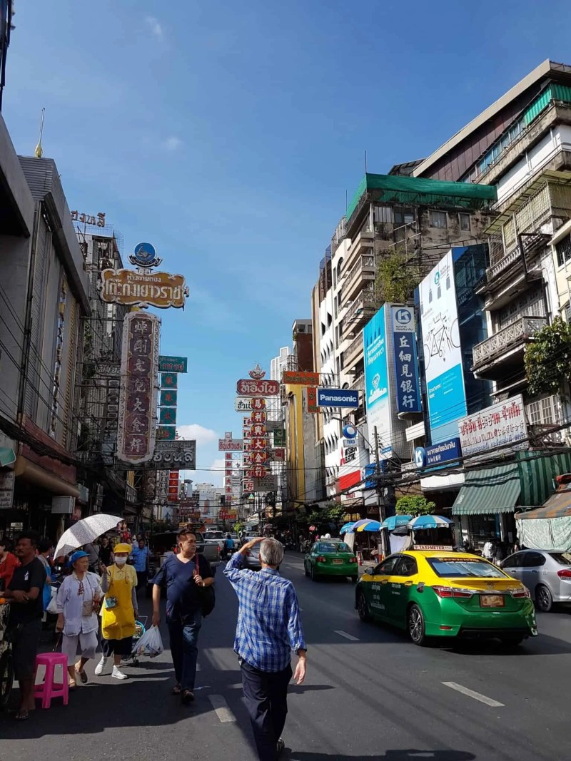 Thaïlande, marché aux fleurs et quartier Chinois de Bangkok 🎎 5