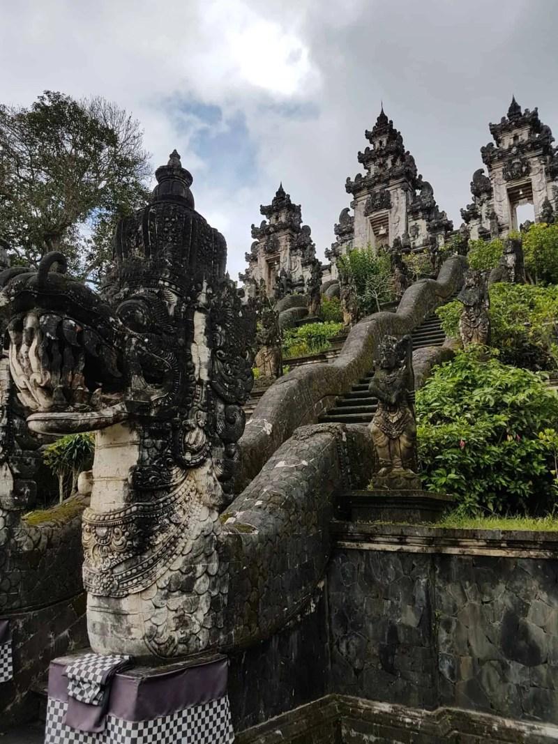 Bali, l'incroyable vue du temple Pura Lempuyang Luhur 🌋 2
