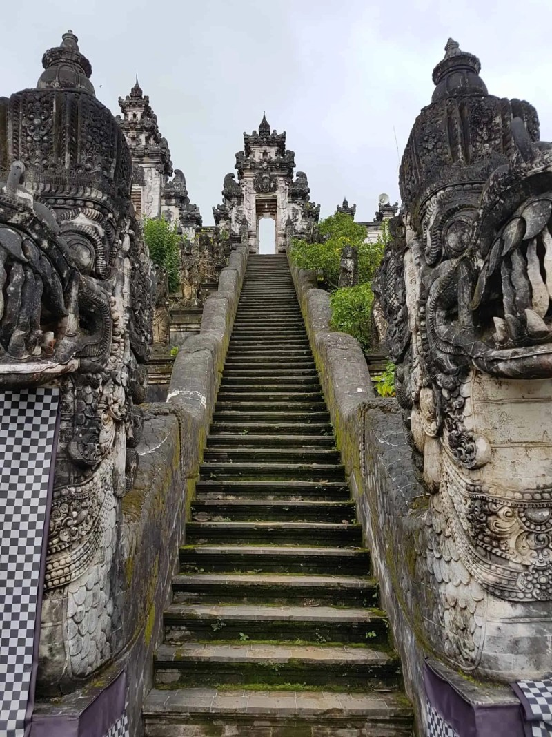 Bali, l'incroyable vue du temple Pura Lempuyang Luhur 🌋 3