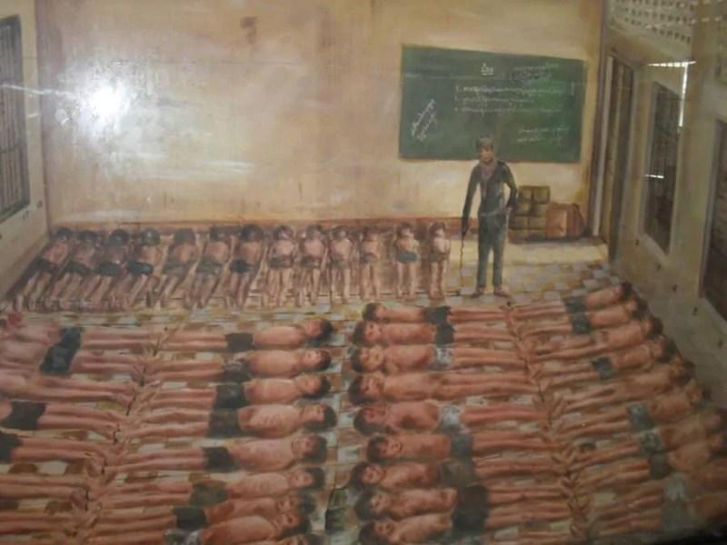 Cambodge, histoire du génocide et visite de la prison S21 😥 10