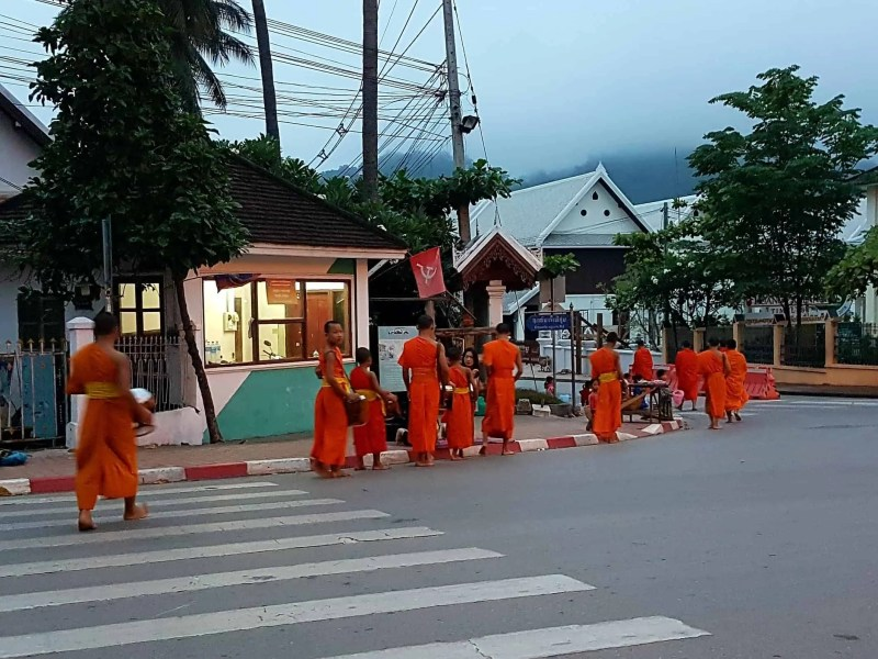 Laos, coucher de soleil depuis le Mont Phousi 🌄 13