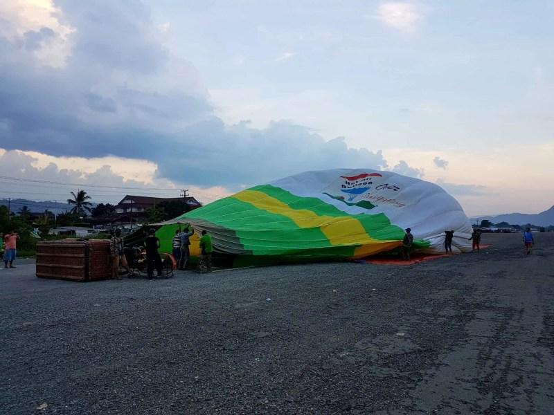 Laos, un vol en montgolfière au dessus de Vang Vieng riche en émotions 🎈 1