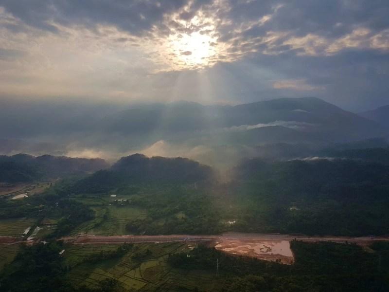 Laos, un vol en montgolfière au dessus de Vang Vieng riche en émotions 🎈 11