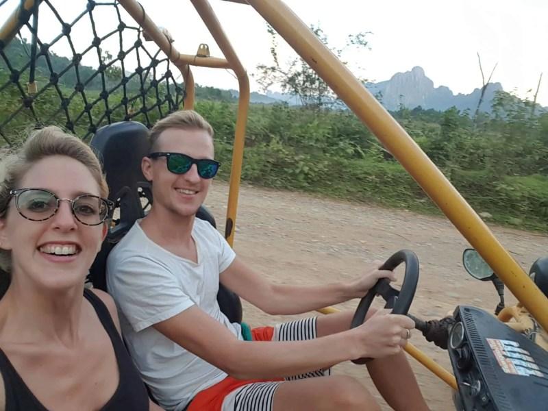 Laos, un tour en buggy qui ne se passe pas comme prévu 🏎 21