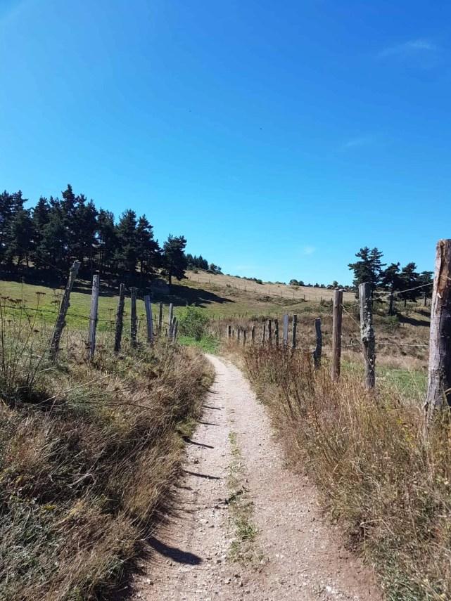 Chemin de Compostelle, au sommet de la Tour des Anglais de Saugues 🏰 7