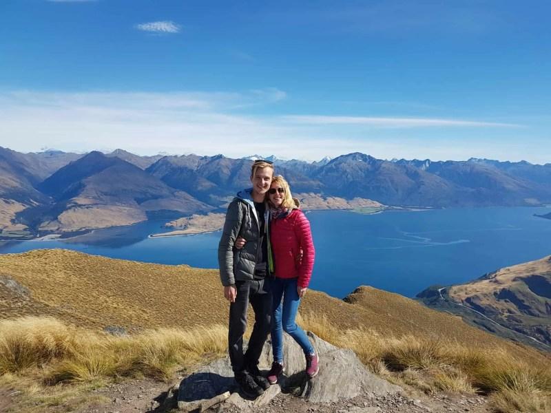 Nouvelle-Zélande, un magnifique lever de soleil depuis Isthmus Peak pour mes 30 ans 🎁 11
