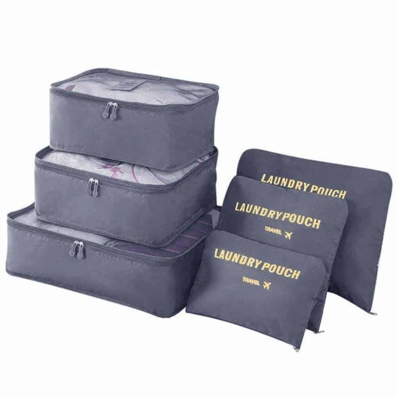 Pochettes organiseur de sac 6 pièces