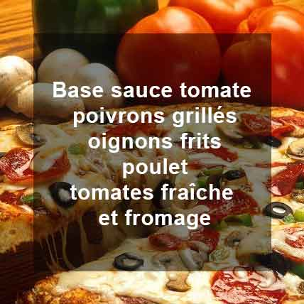 Pizza Basquaise