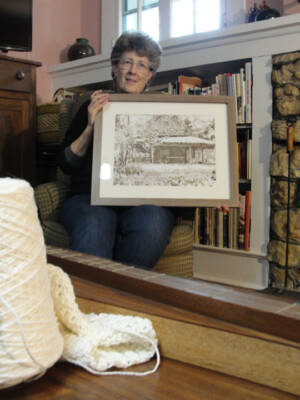 Jean, widow of Greg, and her new way to celebrate family and creativity.