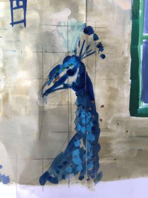 vigilant bird